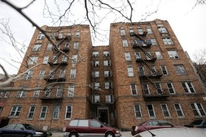 Tenants in a foreclosed Bronx building at 735 Bryant Ave. say the mortgage holder should make repairs.