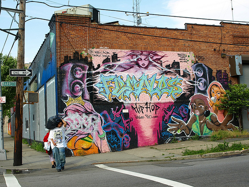 Mural in Hunts Point, Bronx