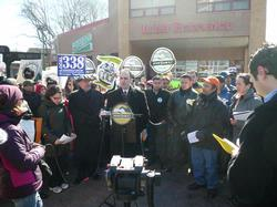 Car Wash Workers Organize in NYC, photo: AFL-CIO