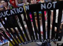 Education not Deportation! photo:: Huffington Post