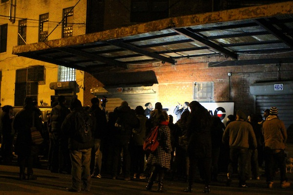 After being evicted, hip-hop artists participate in an open-mic outside of RDAC-BX.