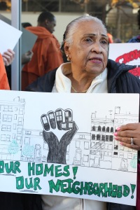 Molly Hernandez - Long term Crown Heights tenant , Activist.